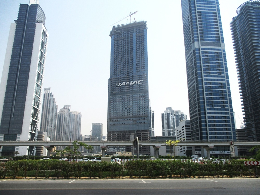 Paramount Tower Hotel and Residences is located on Sheikh Zayed Road.