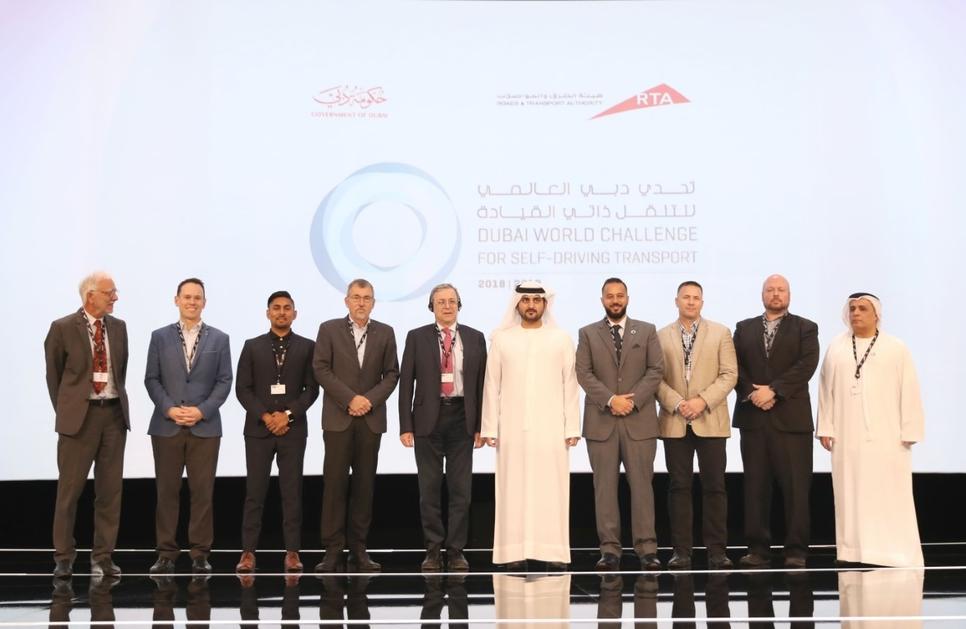 Sheikh Maktoum opens Dubai World Congress for self-driving transport.