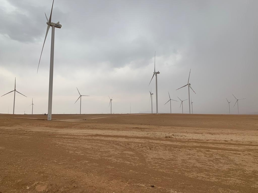 The wind project has a capacity of 89MW.