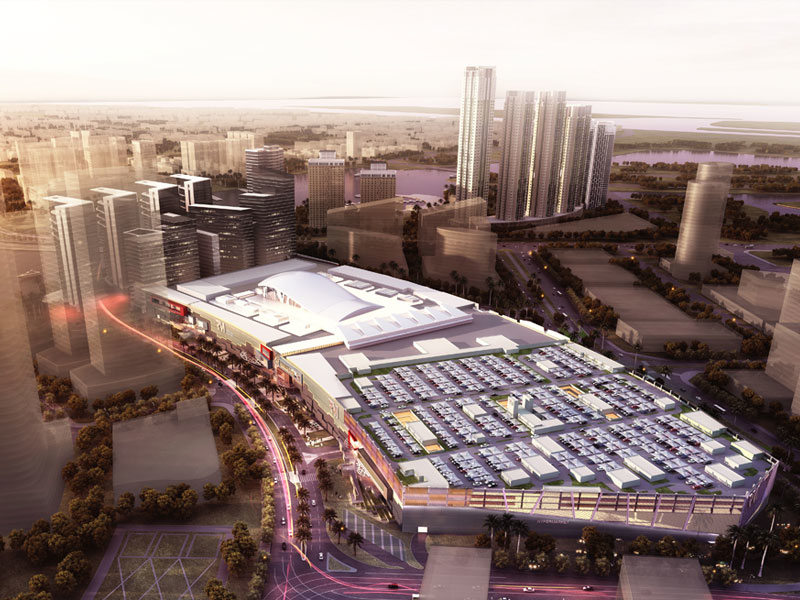 Reem Mall will include the world's largest snow park.
