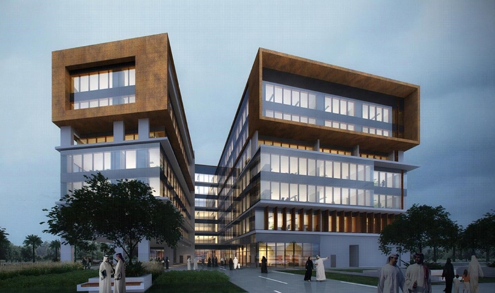 UOWD's new campus will be a six-storey structure.