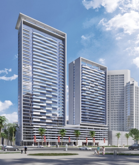 Bloom Heights is a two-towered project.