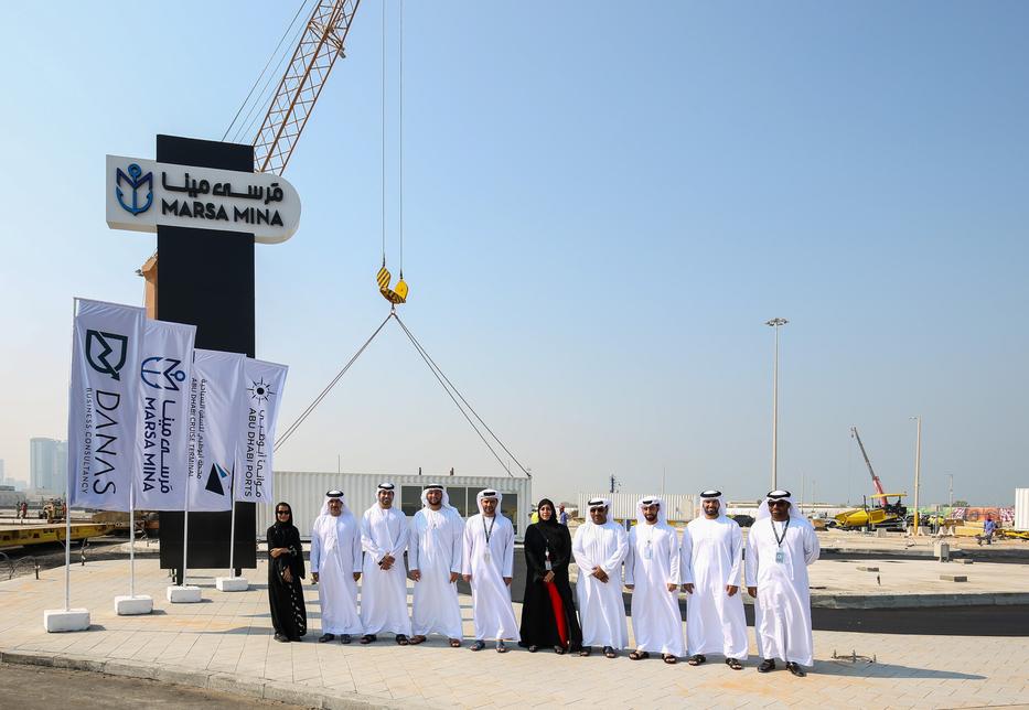 Construction begins on Abu Dhabi Ports' Marsa Mina waterfront destination.