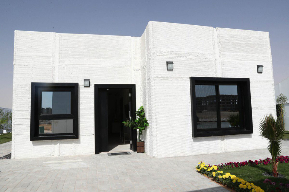 Saudi Arabia's first 3D-printed home [representational image / Twitter / SPA].