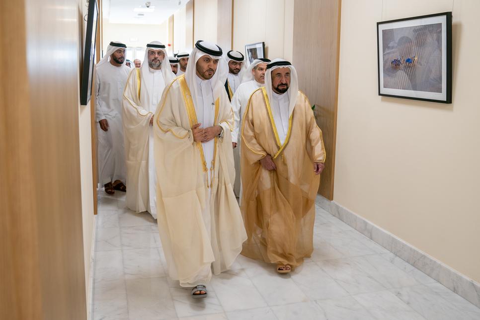 HH Sheikh Sultan Al Qasimi inaugurates Sharjah Media City