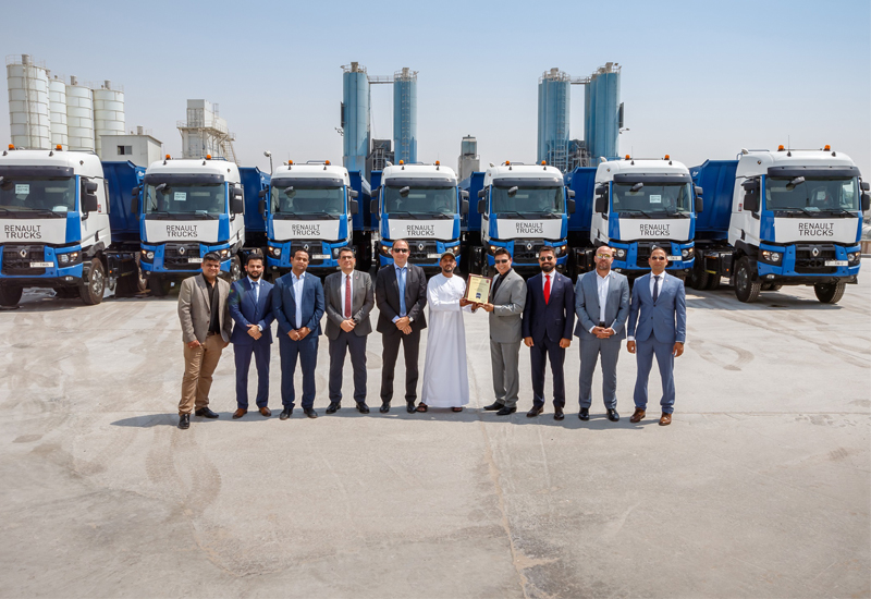 Middle East Ready Mix Concrete has added Renault Trucks to its fleet for the first time