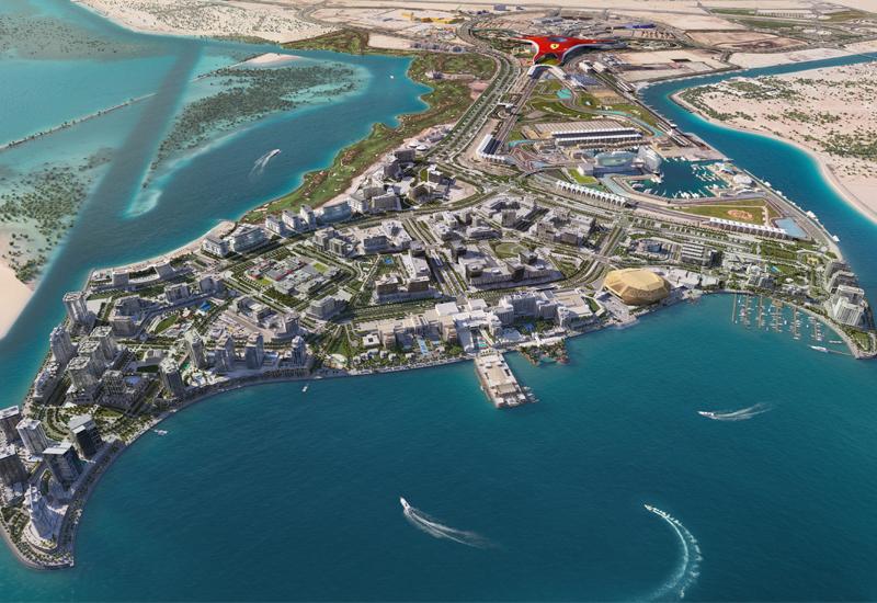 The Yas Bay masterplan