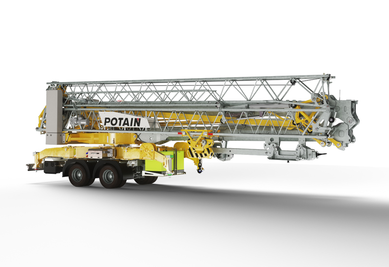 First deliveries for the crane are expected to be delivered from 2020