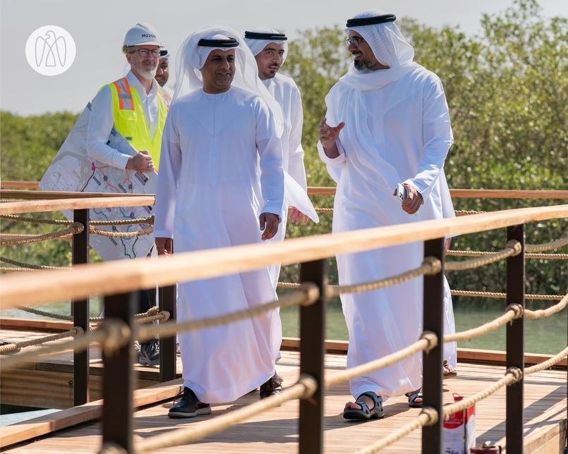 Sheikh Khalid tours Modon Properties' 100ha Mangrove Walks project