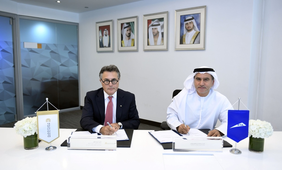 RTA renews rights to name metro stations after Majid Al Futtaim's malls