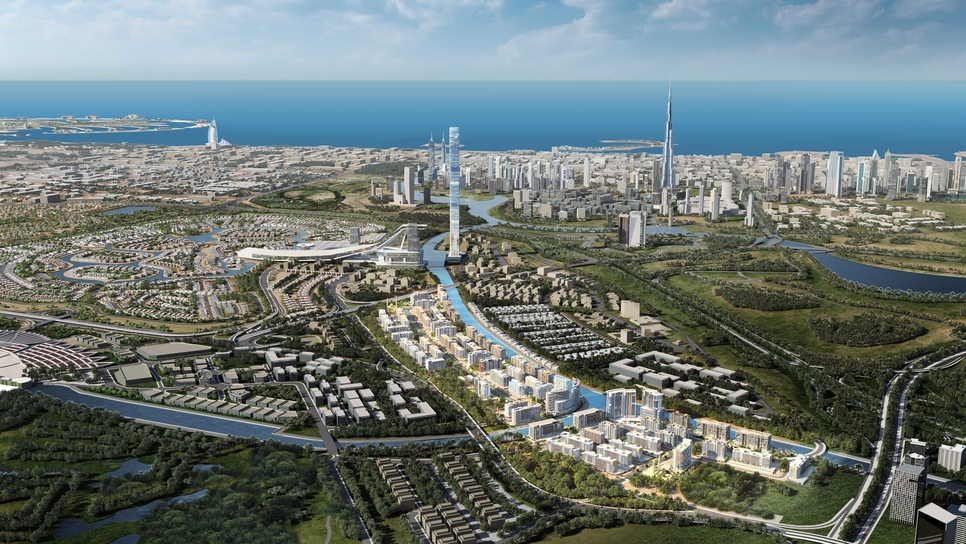 Azizi Riviera is located in MBR City.
