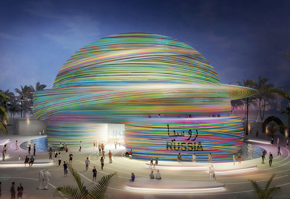 The Russia Pavilion will be located within Expo 2020 Dubai's Mobility District