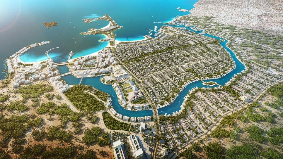 IMKAN's 370ha AlJurf project is a fully-integrated second-home destination along Sahel Al Emarat