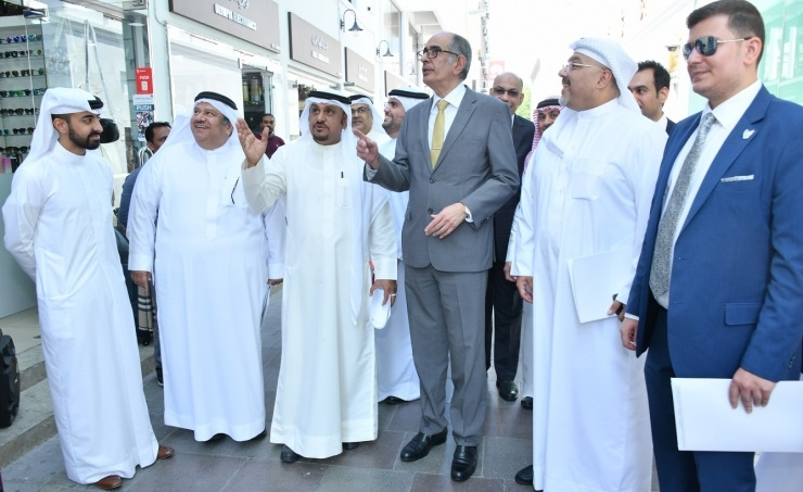 Bahrain's MSDC discusses progress on the Manama Souq project