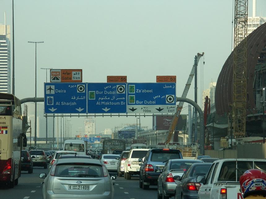 Dubai Police app helps avoid traffic jams, nearby accidents. [representative image]