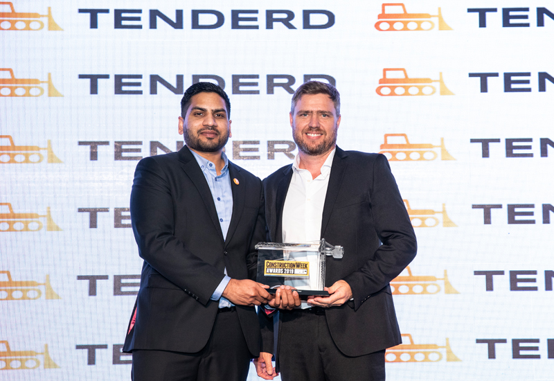 ALEC has won Contractor of the Year at the CW Awards for a second consecutive year