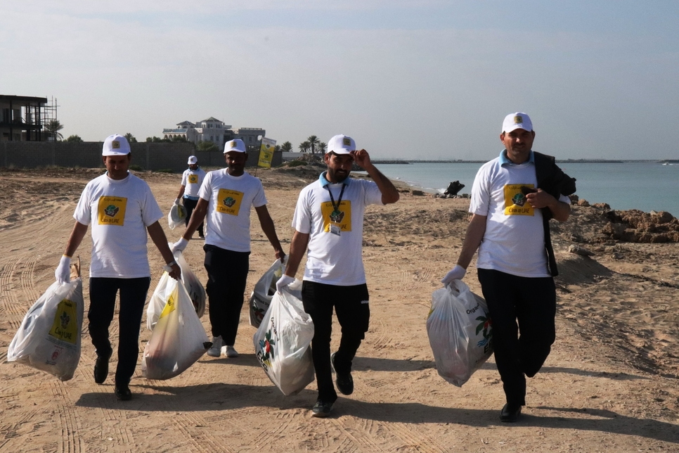 Day 2 of Clean Up UAE campaign gathers 3 tonnes of waste in Umm Al Quwain