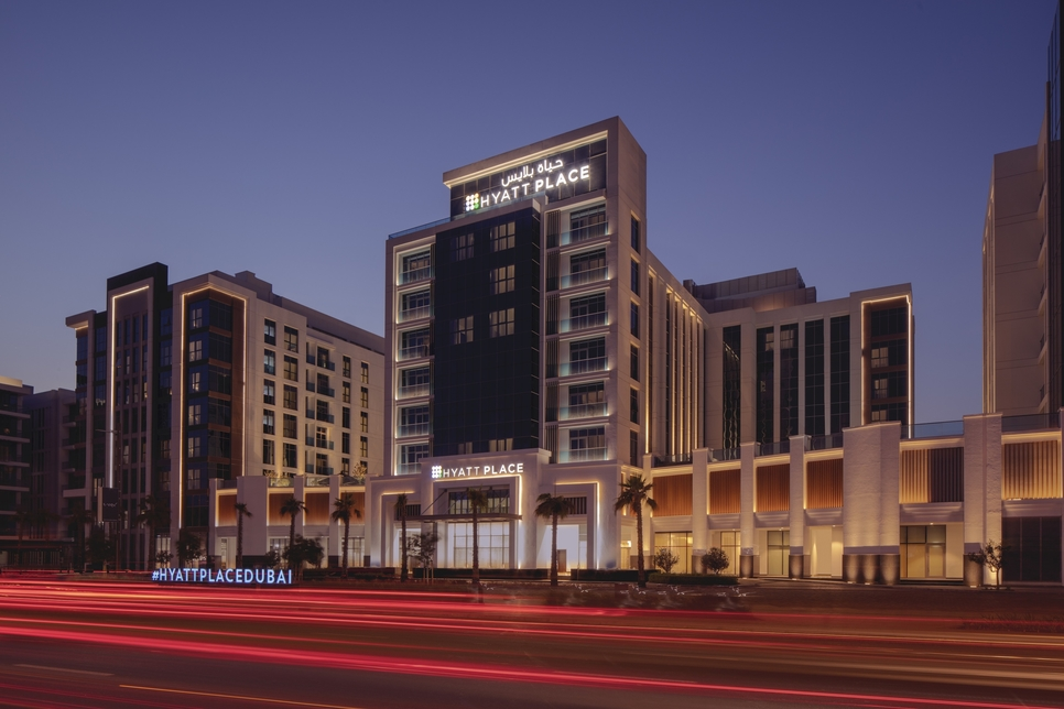 The hotel is located in Jumeriah.
