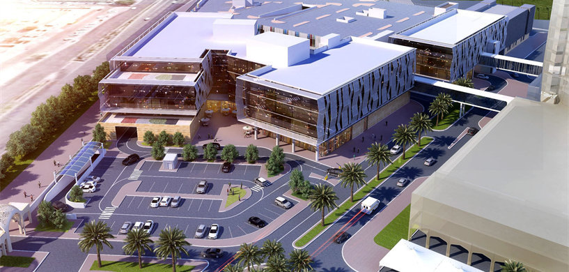 The new building will be an expansion to Dubai Hospital.