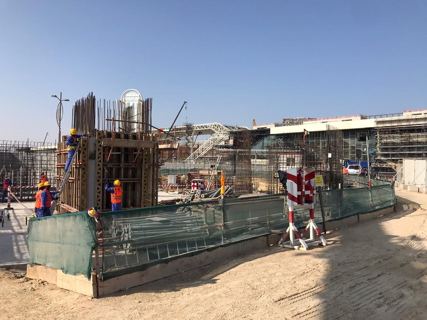 The pavilion is located with Expo 2020 Dubai's Opportunity District.