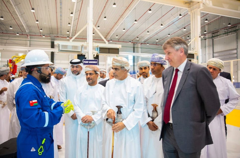 The facility is located in Nizwa in the Sultanate.
