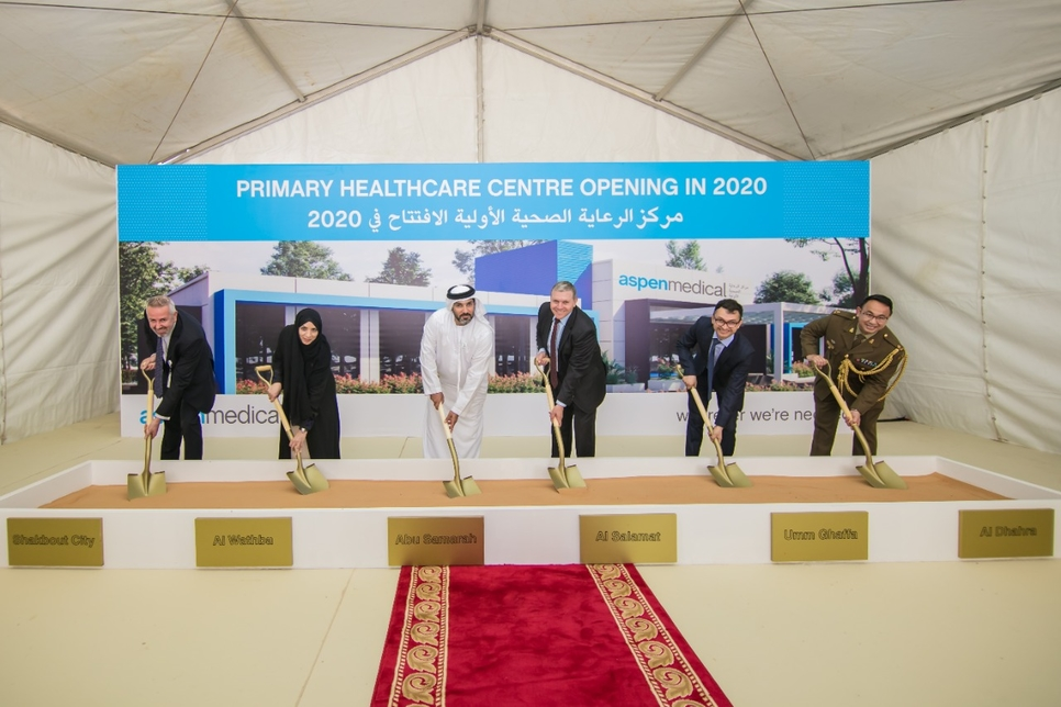 The Abu Samrah Primary Health Clinic is scheduled for completion in 2020.