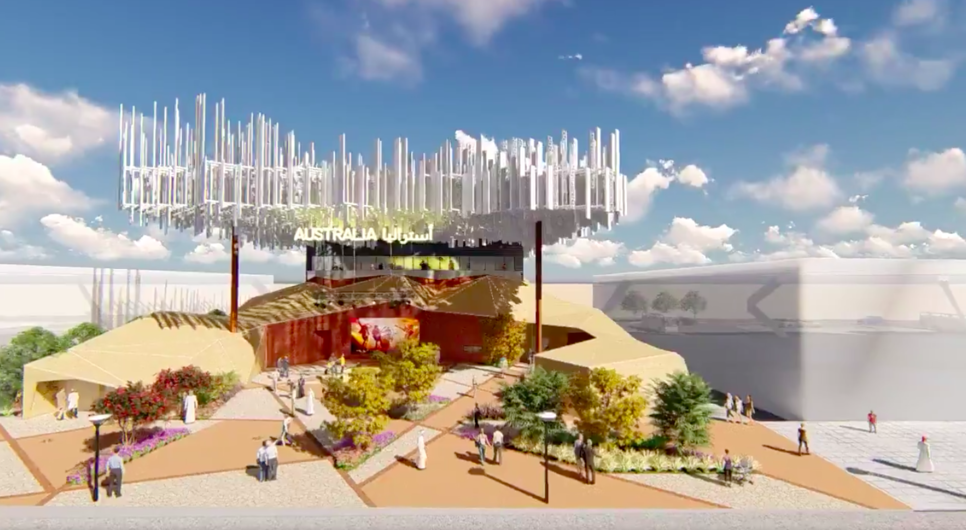 The Australian Pavilion is located with Expo 2020 Dubai's Mobility District.