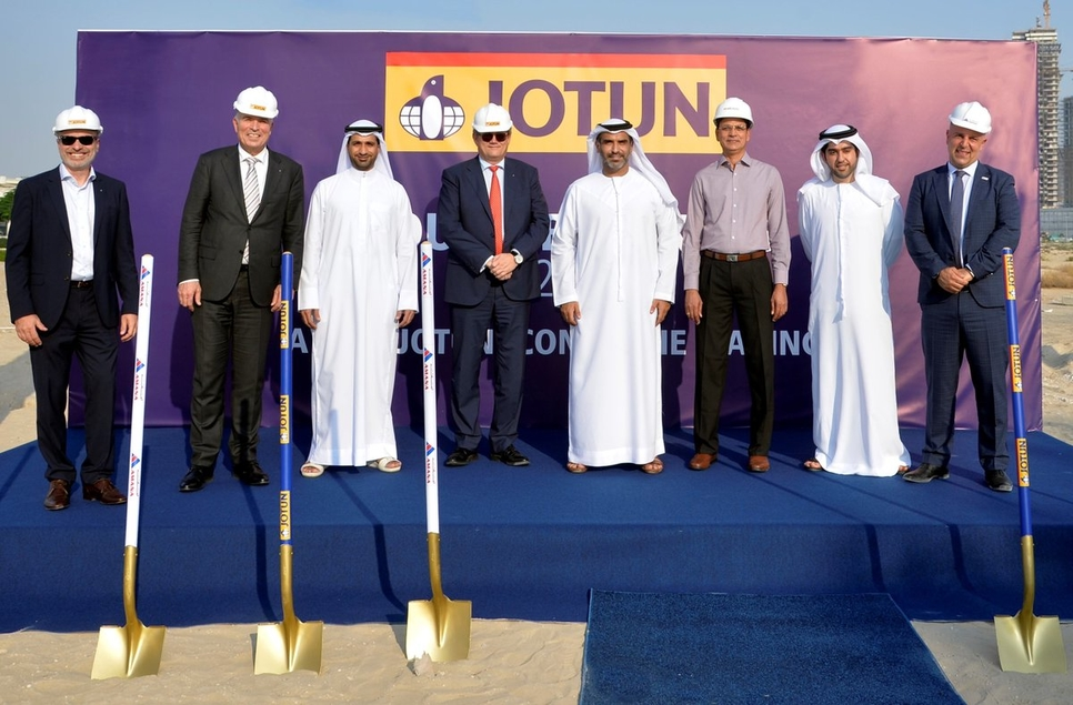 The complex to serve as Jotun's regional HQ in the Middle East.