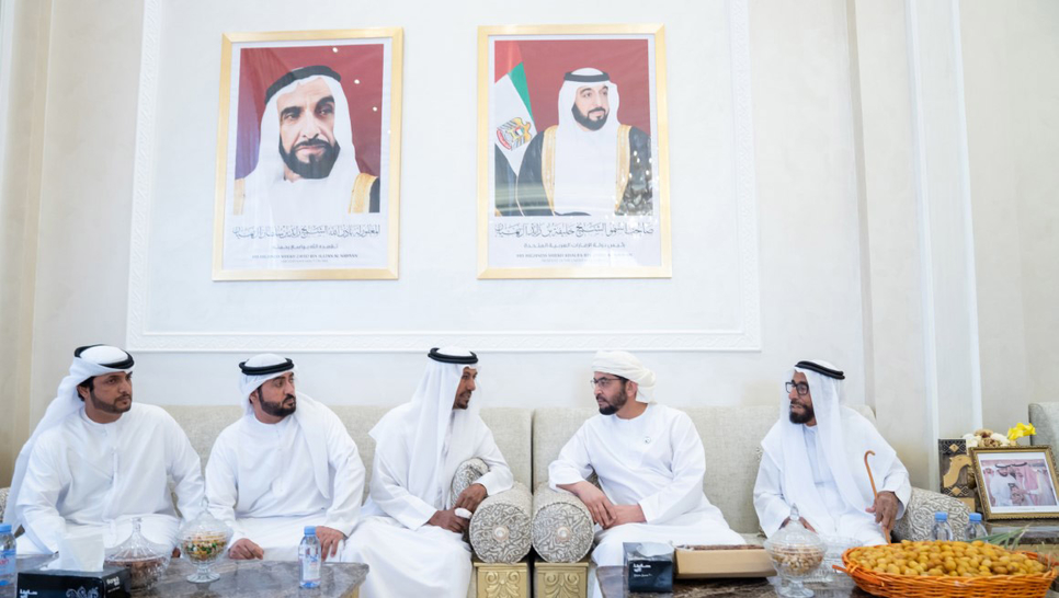Sheikh Hamdan bin Zayed also reviewed proress on other projects in Ghayathi.