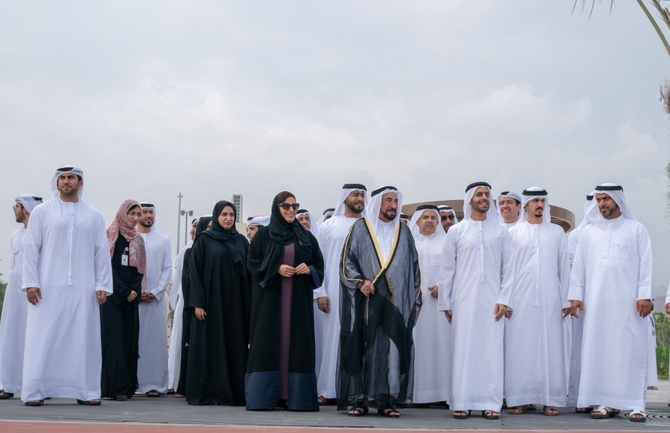 Khorfakkan Beach project was inaugurated by the Sharjah Ruler.