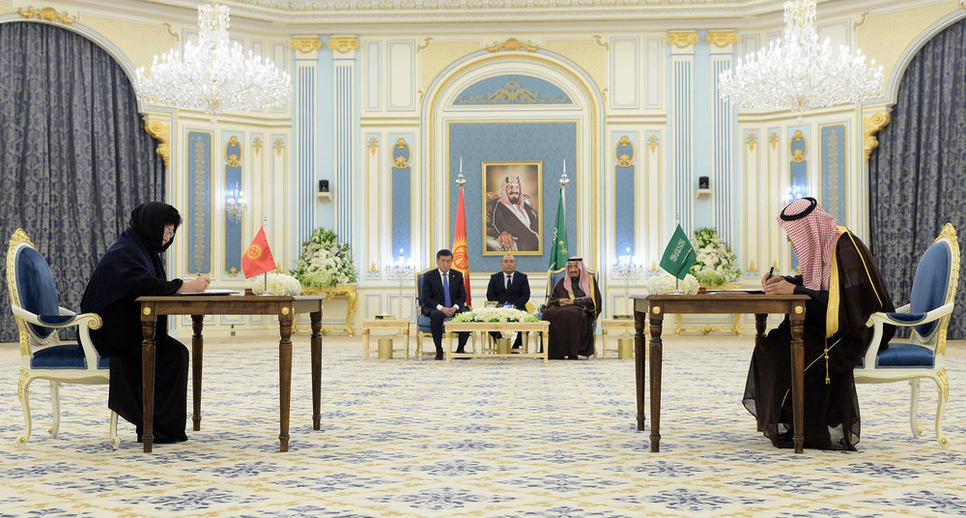 The agreement was inked between SFD and Kyrgyzstan's Minister of Finance.