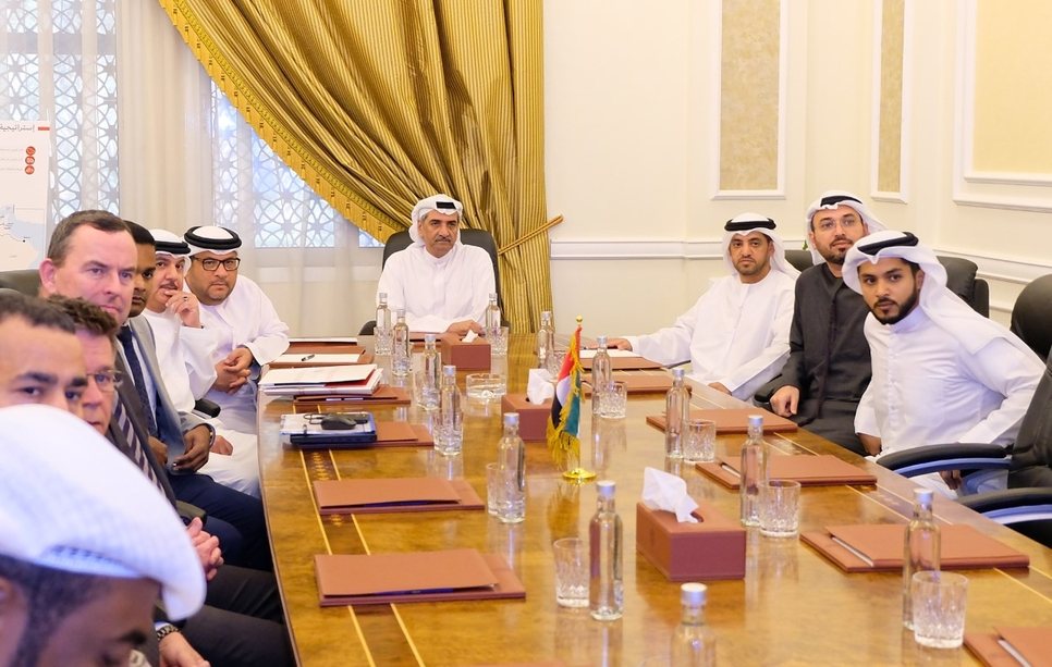 The Fujairah Ruler highlighted the importance of the rail network for the UAE.