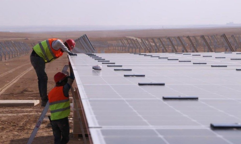 The solar energy project is expected to be completed by Q1 2020.
