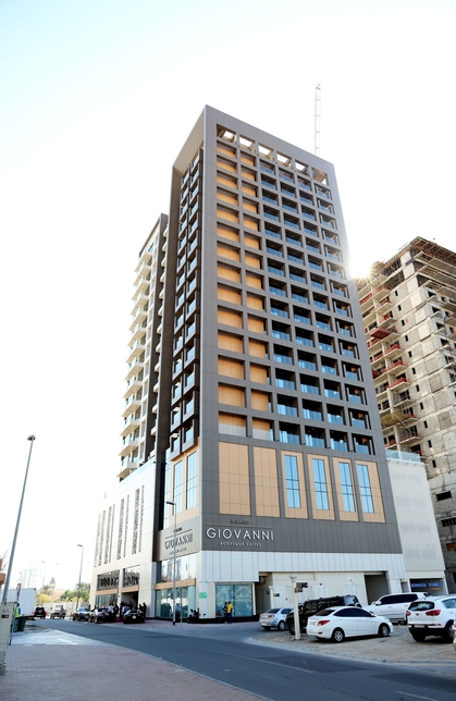 GIOVANNI completes $50m Milano luxury apartment hotel in JVC