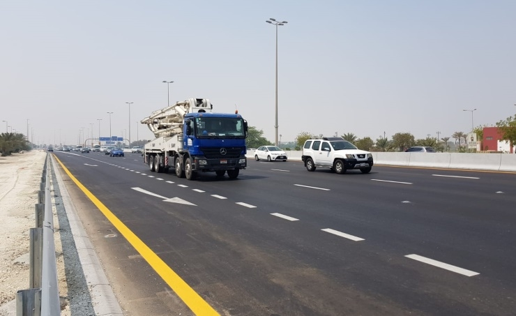 The highway project to increase road capacity from 6,000 vehicles per hour to 8,000.