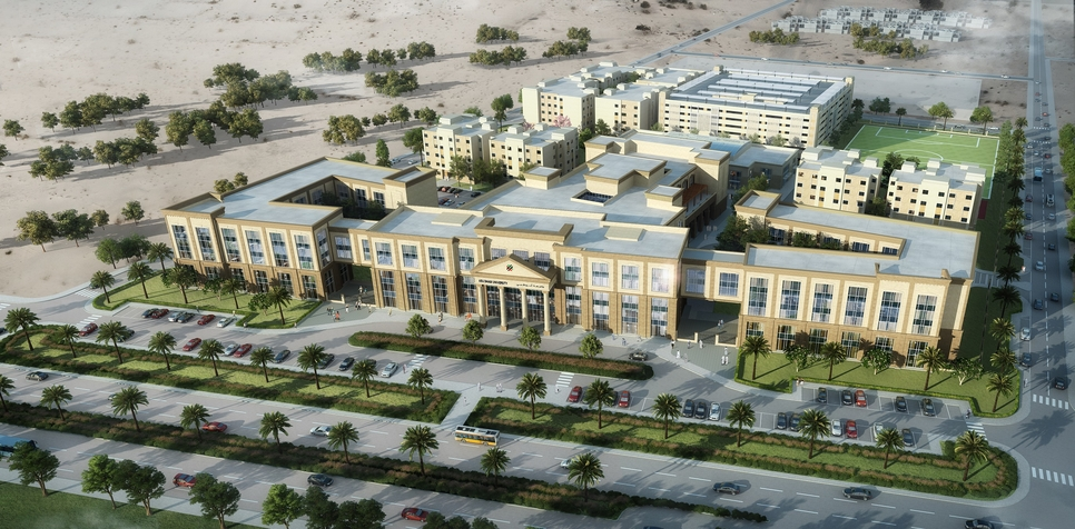 Campus, Abu dhabi university, Al Ain campus, Uae construction projects, Education projects in the UAE