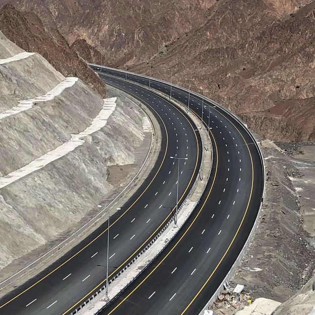 The highway is 191km-long.