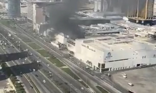Fire at City Centre Mall in Bahrain's Seef put out in 55 minutes