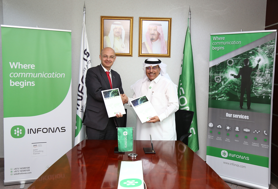 The two firms are aims to help Bahrain enterprises in their 'digital transformation'