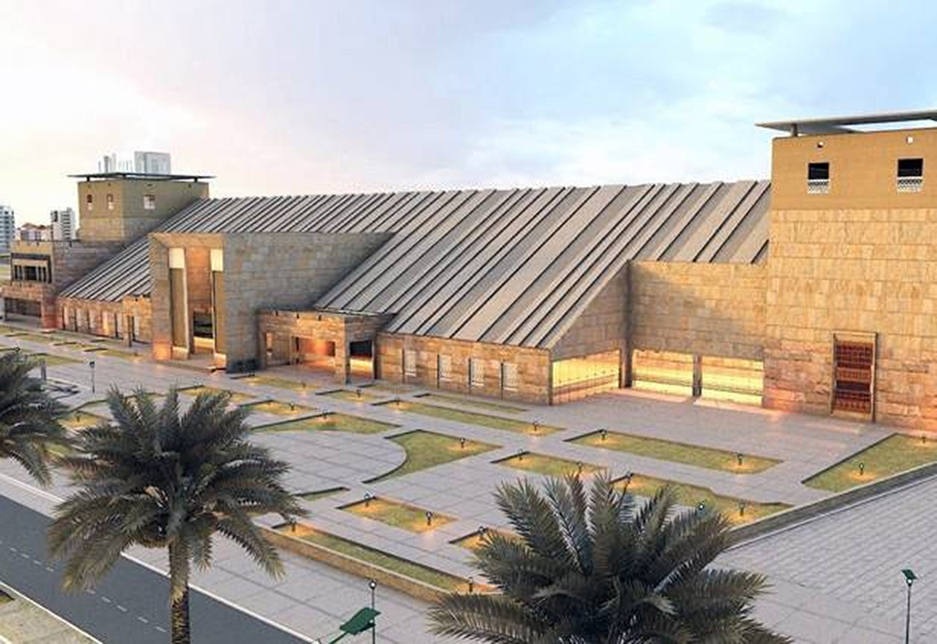 The Tabouk Regional Museum covers an area spanning 12,854m2 [Image: SCTH]