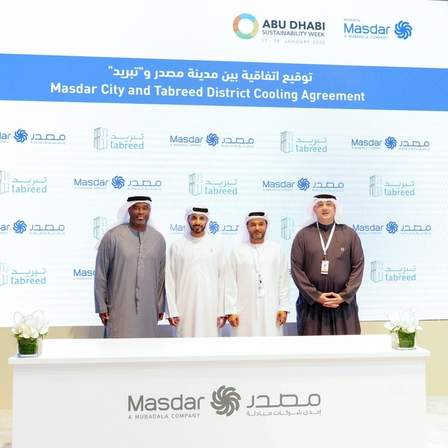The deal was inked during Abu Dhabi Sustainability Week.