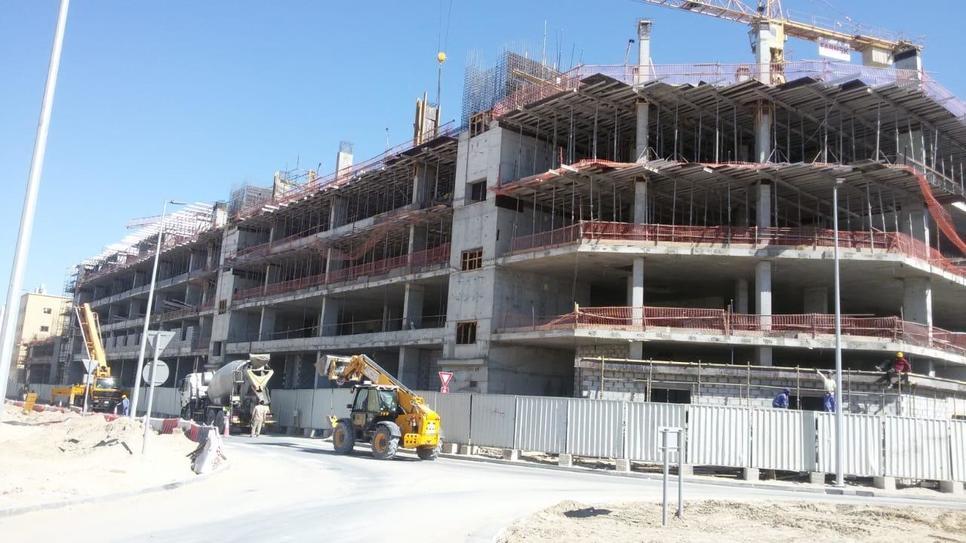 UAE FM firm Farnek's 9,300m2 staff accommodation 65% complete