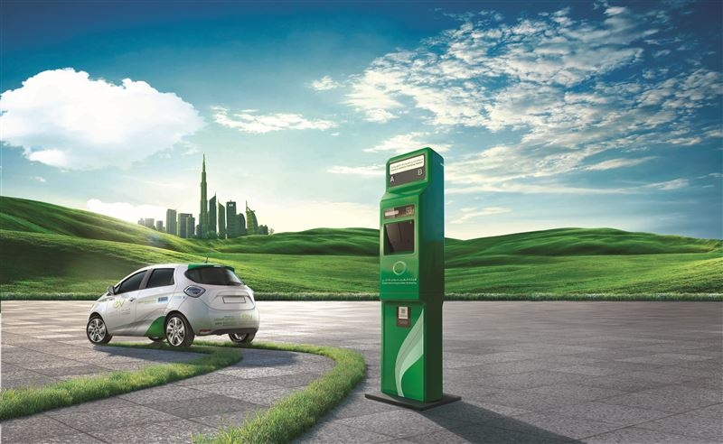 DEWA plans to install 17 electric vehicle green charger stations at the Expo site. [representational]