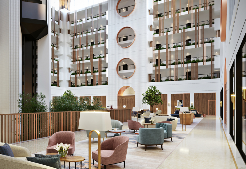 Bishop Design completed the interiors for the Intercontinental hotel in Muscat