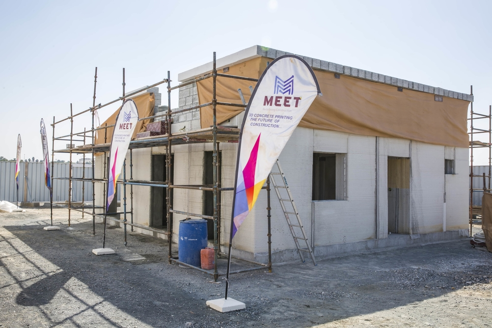 MEET builds 90m2 3D-printed house within 2 weeks at SRTI Park