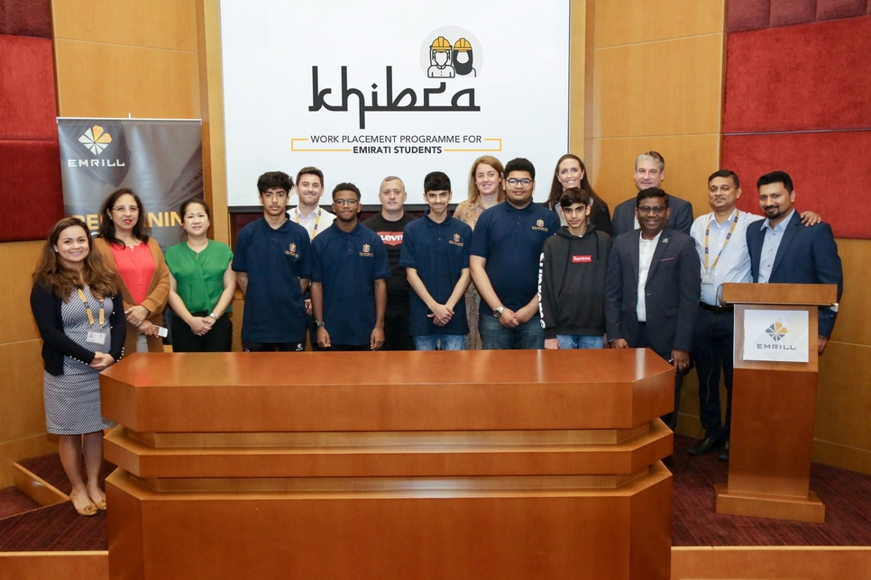 Emrill launches placement programme for Emirati students