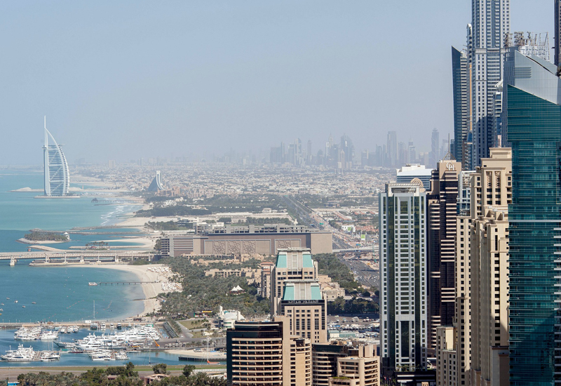 Dubai's property values continue to decrease
