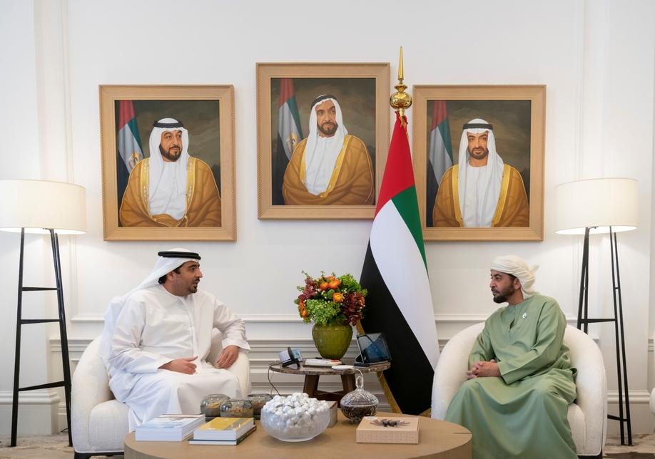 HH Sheikh Hamdan bin Zayed Al Nahyan inspects projects in Al Dhafra region