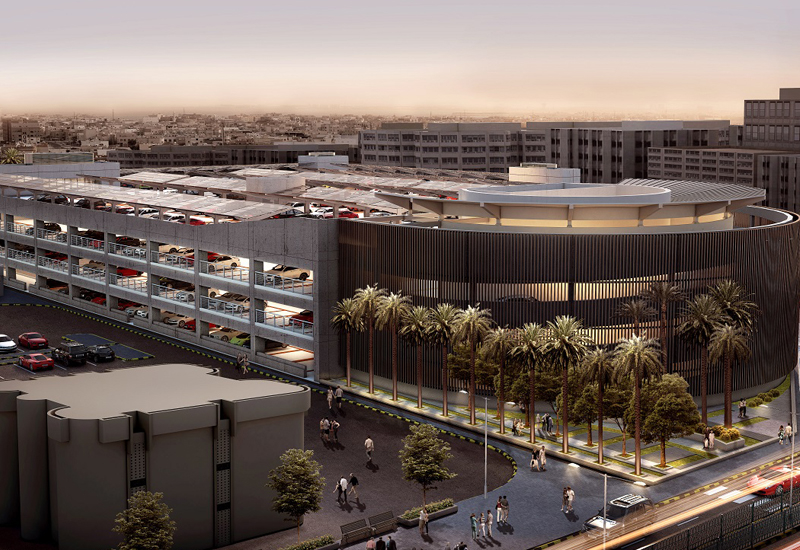 Edamah's Salmaniya Medical Complexes car park structure