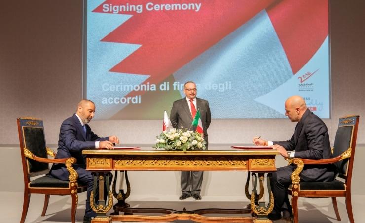 Bahrain's Alba inks deals with Italy's Fluorsid, FATA, and Techmo Car
